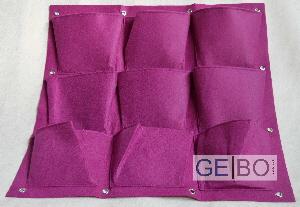 pflanzenwand lila pflanzen wand pflanztasche pflanzbeutel. Black Bedroom Furniture Sets. Home Design Ideas