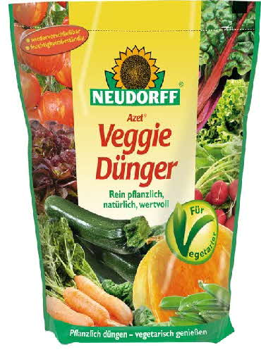 neudorff azet veggie d nger 750g veganer d nger organischer npk d nger ebay. Black Bedroom Furniture Sets. Home Design Ideas